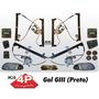 Kit Vidro Eletrico Gol G3 4 Portas Completo Semsorizado