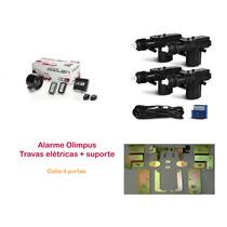 Alarme Olimpus Com Presença + Trava Elétrica Celta 4 Portas