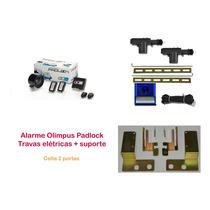 Alarme Olimpus + Trava Elétrica Celta 2 Portas