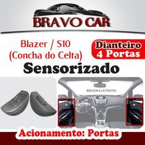 Kit Vidro Elétrico S10 Blazer 4 Portas Dianteira Sensorizado