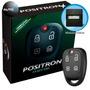 Alarme Positron Automotivo Carro Ex330 + Modulo De Vidro