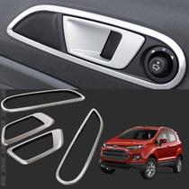 Ford Ecosport Moldura Cromada Maçanetas Internas Acessorios