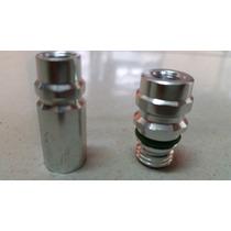 Válvula Baixa E Alta Com Schrader Para Ar Condicionado R134a