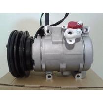 Compressor Ar Condicionado 10s17c Trator Caterpillar 1a 24v