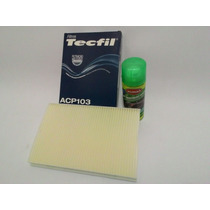 Filtro Ar Condicionado C/ Higienizador Fiat Palio Idea Linea