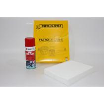 Filtro Ar Condicionado+higienizador Wurth Limão - Celta