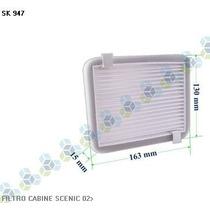 Filtro De Cabine Ar Condicionado Scenic 02 - Schuck