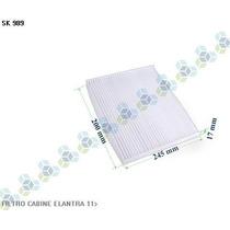 Filtro De Cabine Ar Condicionado Elantra 11/... - Schuck