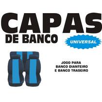 Jogo Capas De Bancos Para Automóveis Completa - Azul