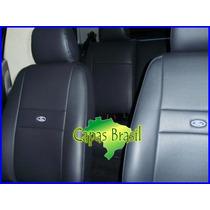 Capas De Couro Courvim Para New Fiesta Hatch