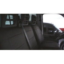 R7 Capa Banco Couro Courvin Fiat Ducato Simples 03 Lugares