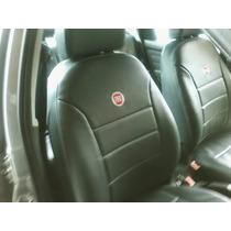 R7 Capa De Banco De Carro De Couro Fiat Palio Way 2014/2015