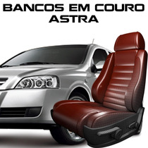 Acessorios Astra - Kit Capas De Banco 100% Em Couro Astra