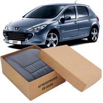 Kit Capas De Banco 100% Em Couro Padrão Peugeot 306 307