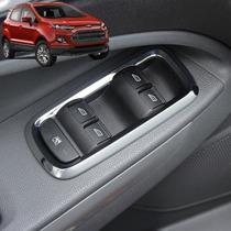 Ford Ecosport Moldura Cromada Comando Vidro Acessórios Aro
