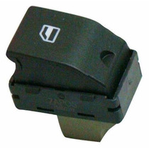 Botão - Interruptor Do Vidro Elétrico Fox Gol G4/g5 Simples