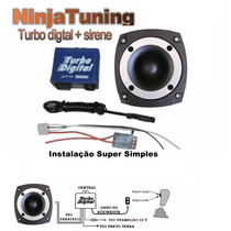 Turbo Virtual Digital 2 Espirro + Regulador + Tweeter