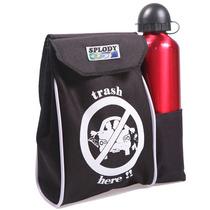 Lixeira Lixo Lixinho P/ Carro Com Porta Copos Splody-100.135
