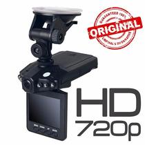 Câmera Filmadora Veicular Hd Dvr Visão Noturna Visor Lcd 2,5