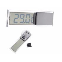 Lcd Display Relógio Automotivo Carro Temperatura