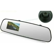 Retrovisor Câmera Filmadora Dvr Espelho Carro E Onibus