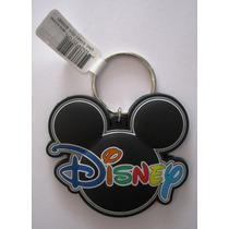 Chaveiro - Mickey Mouse Diney World - Borracha - Original