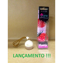 Aromatizante Ona Morango 6ml - Perfume P/carro O + Top