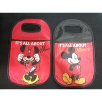 Mickey / Minnie (kit) - Lixeira + Chaveiro Para Carro