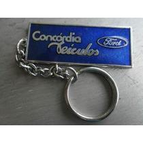 Chaveiro Em Metal Concessionária Ford Concórdia Recife-pe