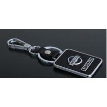 Chaveiro Em Liga De Metal E Couro - Nissan
