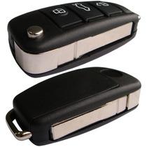 Chave Canivete Audi + Placa Chip P Positron Lamina Ford