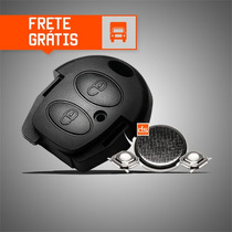 Frete Grátis - Kit Capa Chave Vw - Fox/crossfox/spacefox/gol