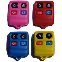 Capa Controle Alarme Ford 4 Botões Colorida Frete Grátis