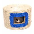Brinquedo Para Gato Arranhador Toca De Corda Com Brinquedo