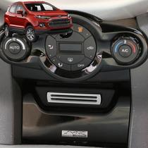 Ford Ecosport - Aplique Aro Cromado Porta Cartão Acessorios