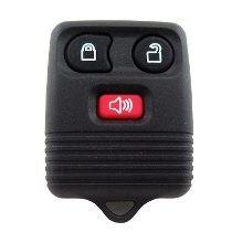 Capa Carcaça Controle Do Alarme Ford 3 Botões - Frete R$9,99