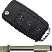 Chave Canivete Adaptação Não É Réplica + Lâmina Ford Fiesta