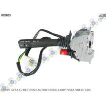 Chave Seta C/ Retorno Automatico Farol Lampejo Pisca Volvo