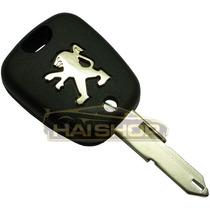 Frete Grátis Par Capa Chave Telecomando Peugeot 206 + Lâmina