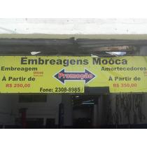 Kit De Embreagem Escort Zetec Apenas Sp 320,00 Colocado