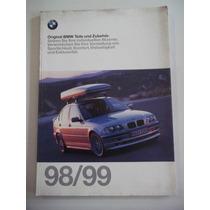 Catálogo Original De Opcionais E Acessórios Bmw 98/99
