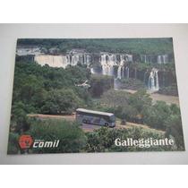Brochura De Venda Ônibus Comil Callegiante Volvo B 10 M