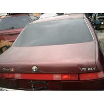 Tampa Traseira Do Alfa Romeo 164 3.0 24v V6 Automatico