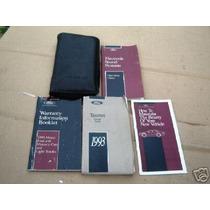 Ford Taurus 1993 Manual Do Proprietário Original