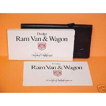 Manual Original Dodge Ram Van E Wagon 1996 Completo