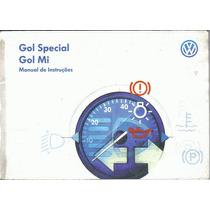 Manual Proprietario Gol Special Ou Mi 2000 2001 Original