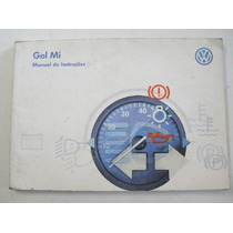 Manual Do Proprietário Gol Mi 1998 Original