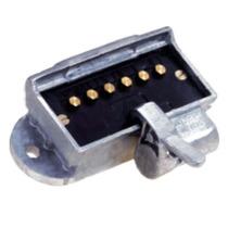 Tomada Eletrica Fêmea 6 Plugs Corpo Em Alumínio