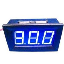 Voltímetro Digital Remote Blue 3,3~30v