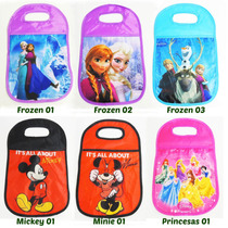 Lixeira Lixo Carro Disney Frozen Mickey Minie Princesas